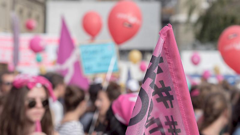 Am 14. Juni 2019 ist der Frauenstreik. Wir treffen uns um 16