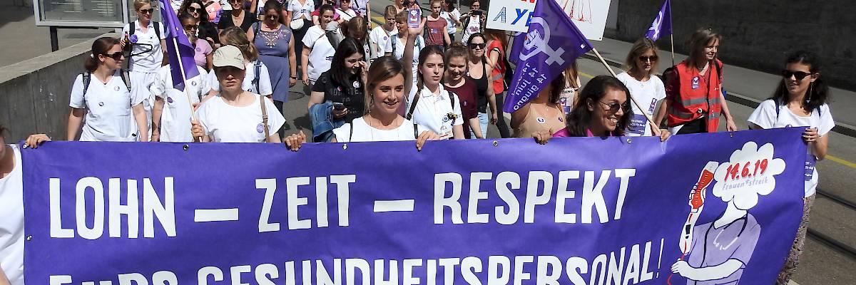 Frauen*streik in Zürich